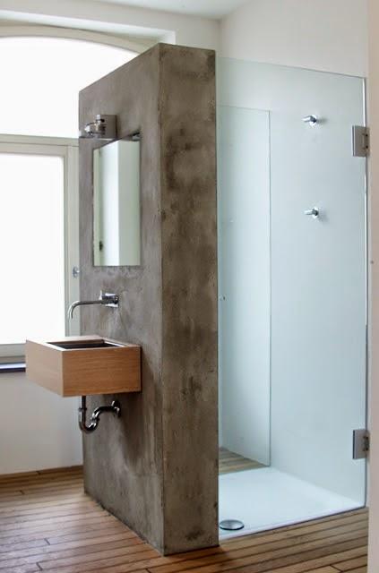 Binnenkant ruimtelijk ingedeelde badkamer - Een mooie badkamer ...