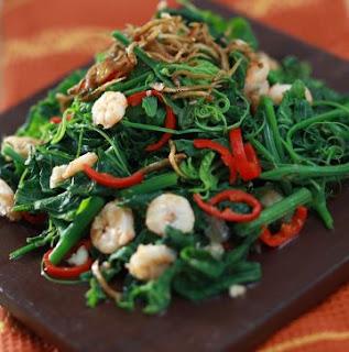 Resep Masakan Sayur Tumis Pucuk Labu