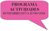 ACTIVIDADES 2017 2018
