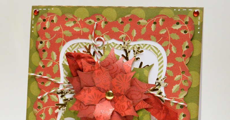 Poinsettia And Bow Coloring Pages