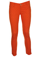 Pantaloni Stradivarius Linx Orange (Stradivarius)