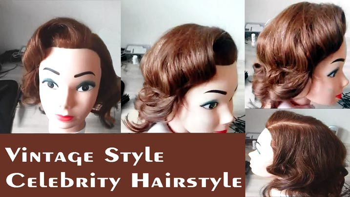 Vintage Style Celebrity Hairstyles