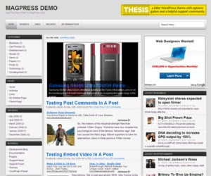 Devio WordPress Theme