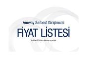 Amway Fiyat Listesi 2012-2013
