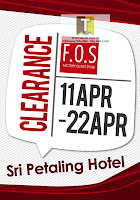F.O.S Clearance Event KL 2012