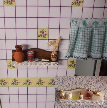 Estantes de cocina y Baño