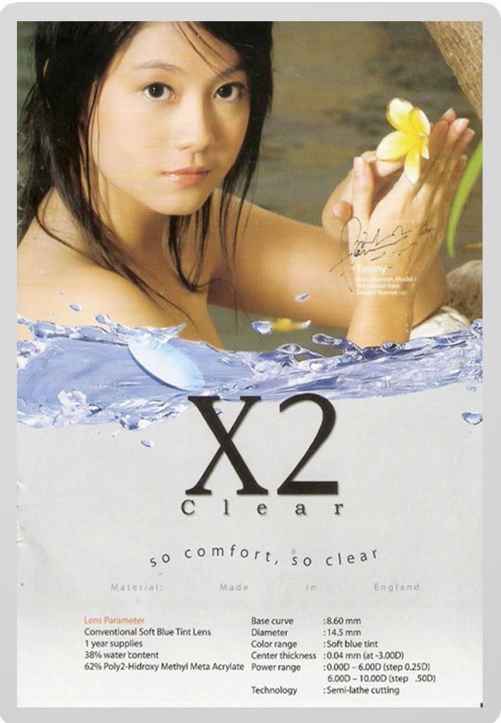 Jual Softlens X2 Clear Murah
