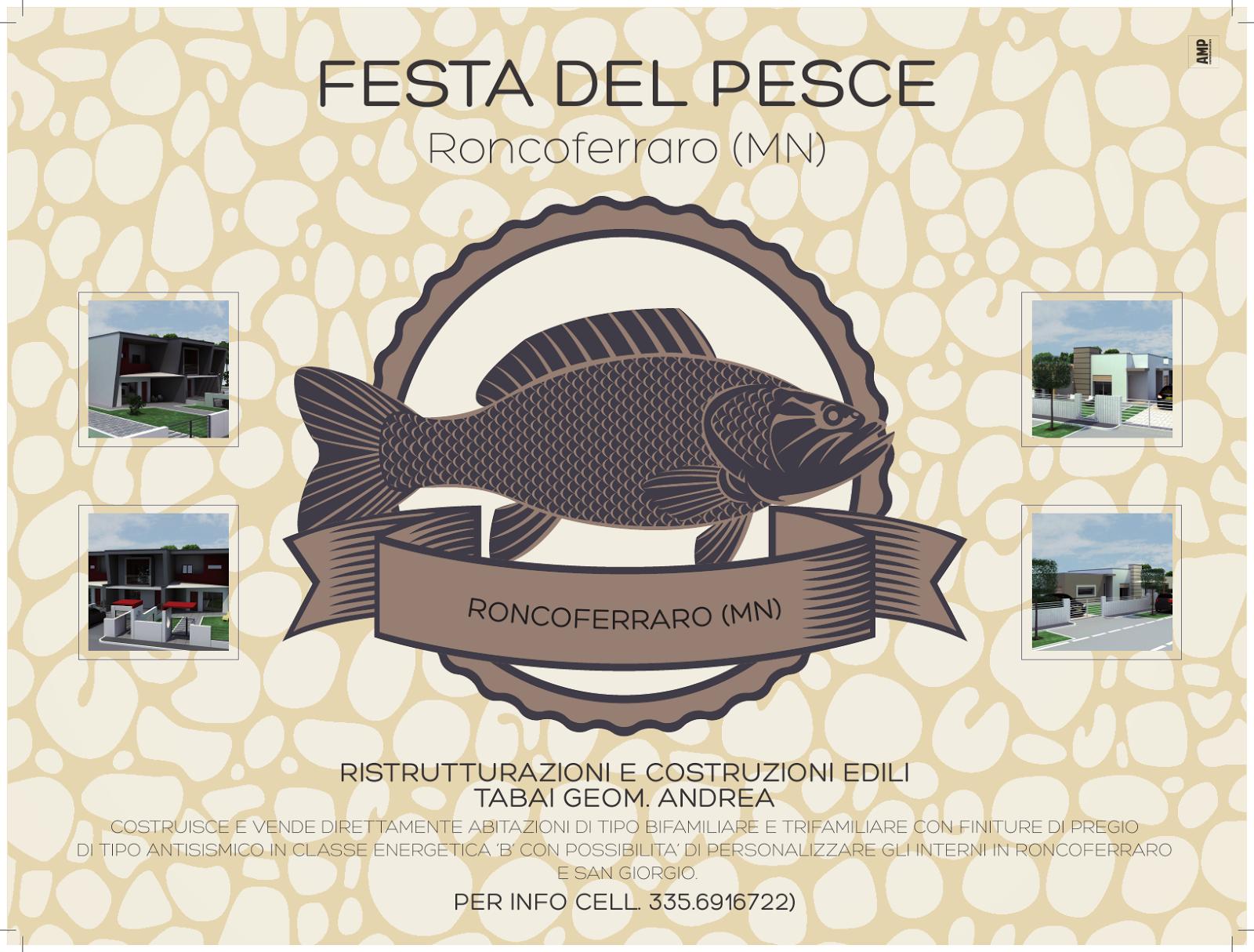 Tovaglietta della Festa del Pesce