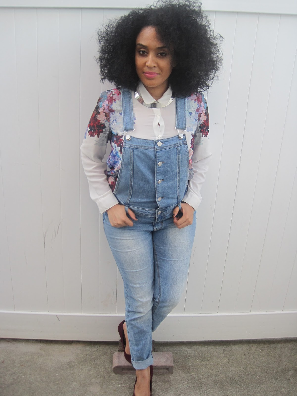 The Real Darling Nikki: How to Dress Up Overalls for Fall