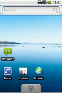 Tampilan Android 2.0