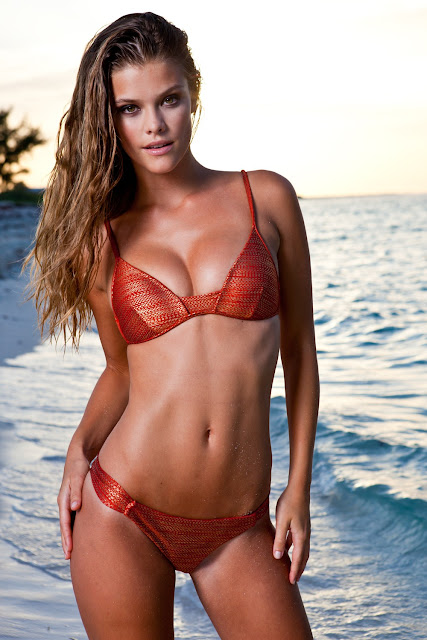 Nina Agdal in Swimwear
