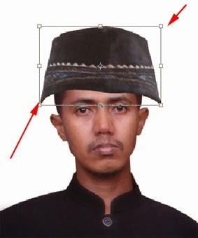 Menambah Kopiah di Kepala Dengan Photoshop