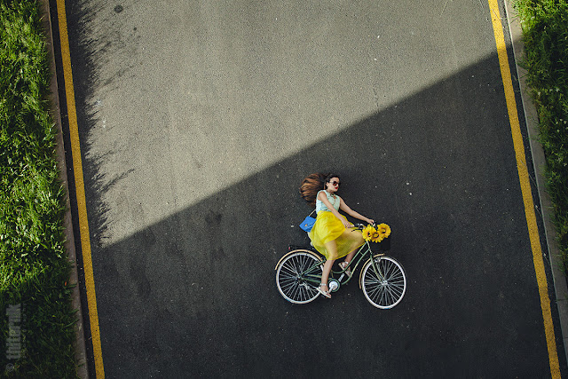 cycling on the ground