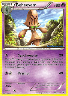 Beheeyem Pokemon Card Noble Victories Set