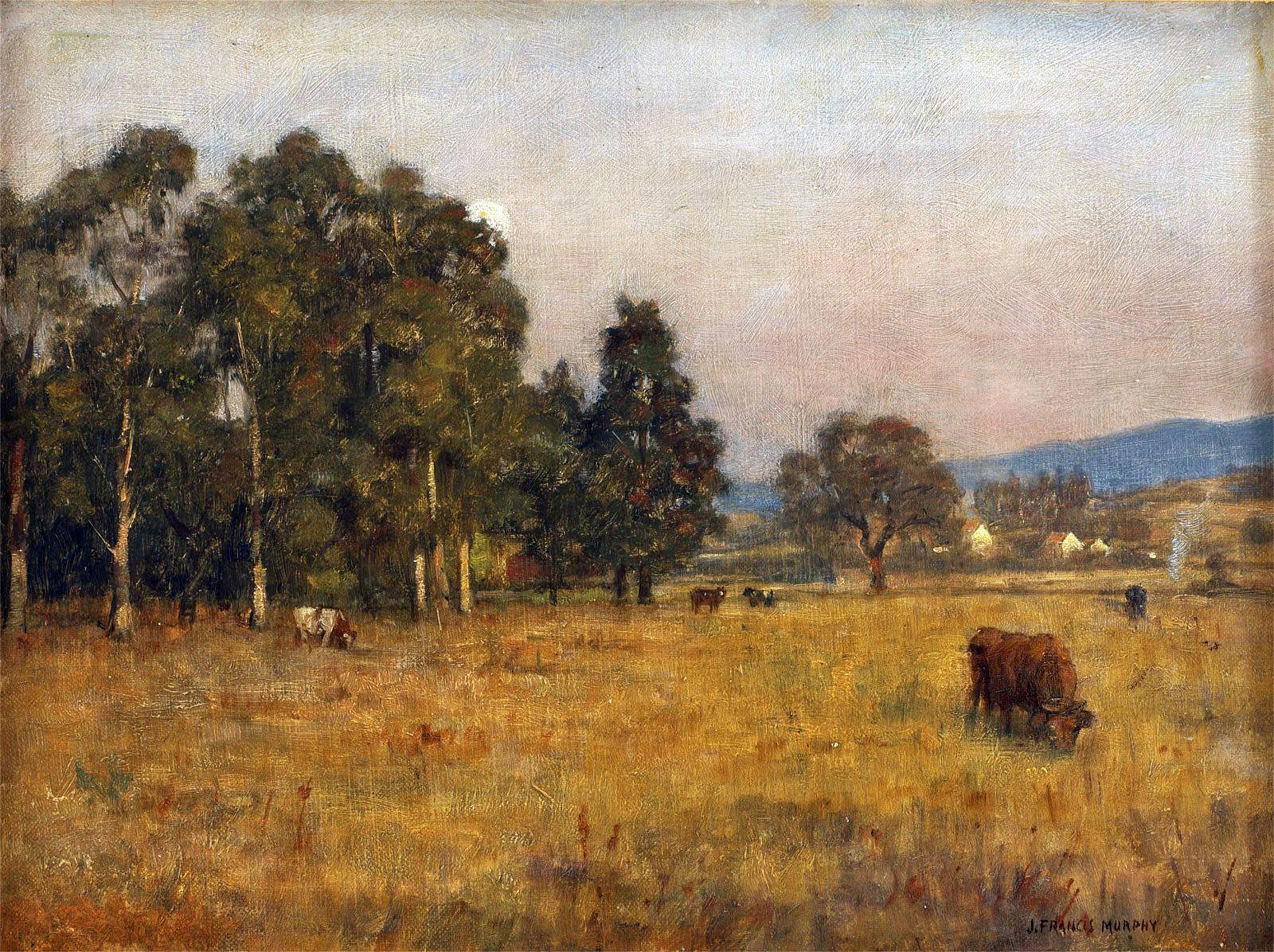 19th century American Paintings: John Francis Murphy