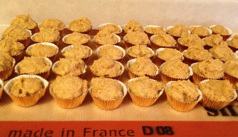 Running out of Apples: Mini Sweet Potato Muffins