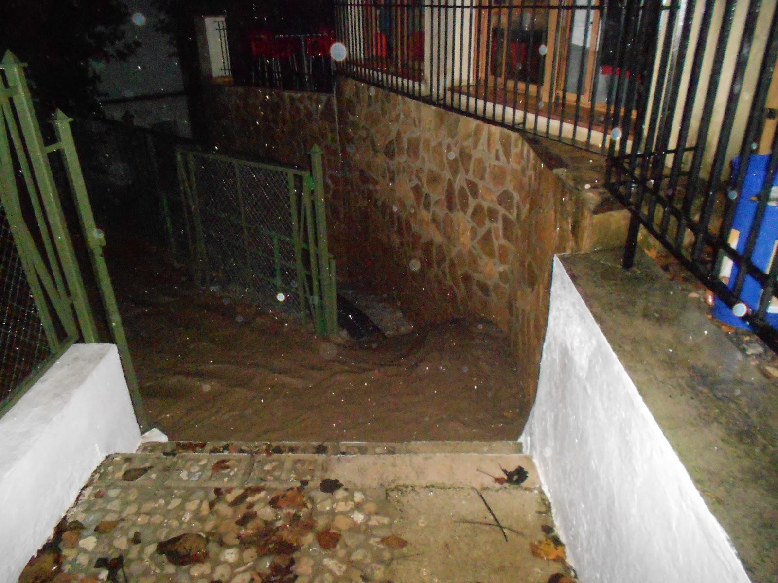 Orcera news lluvias torrenciales en orcera for Piscina municipal de orcera