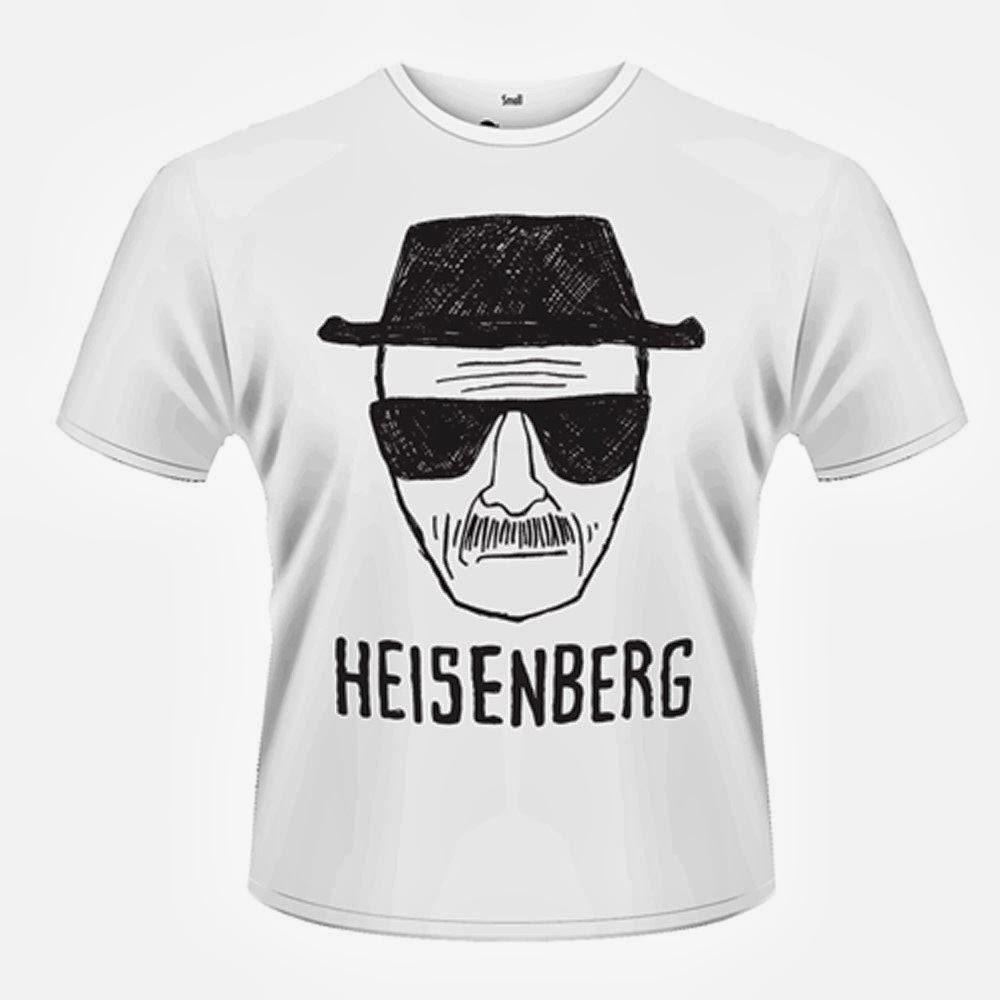breaking bad breaking bad heisenberg sketch t shirt 2013. Black Bedroom Furniture Sets. Home Design Ideas