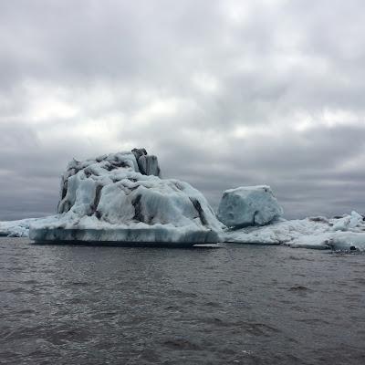 Iceberg in Jokulsarlon, Glacer Lagoon