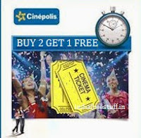 Cinepolis Cinemas Movie Tickets Buy 2 Get 1 Free at Groupon
