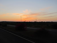 Sun Rising with orange shade