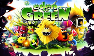Screenshots of the Eden to Green for Android tablet, phone.