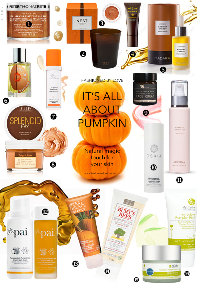 Best pumpkin beauty products / organic & natural skin care / Georgia May Jagger in Marie Claire US September 2013 (photography: Alex Cayley, styling: Laura Ferrera) via www.fashionedbylove.co.uk