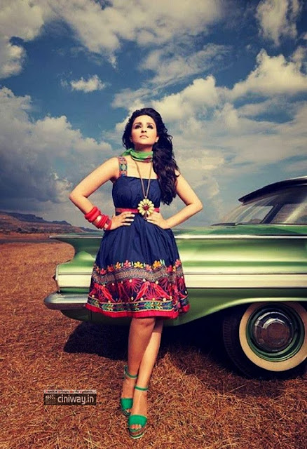Parineethi Chopra Photoshoot for Filmfare July 2013