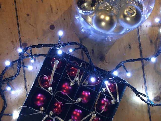 Christmas Decorations, Christmas Baubles, Fairy Lights