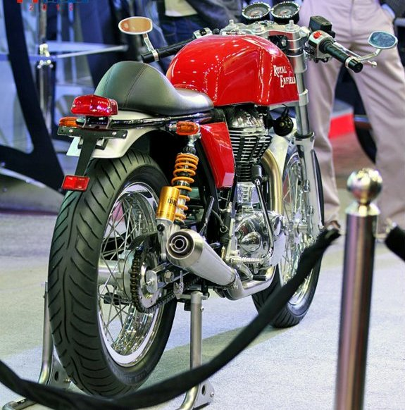 Royal Enfield Cafe Racer rear shot
