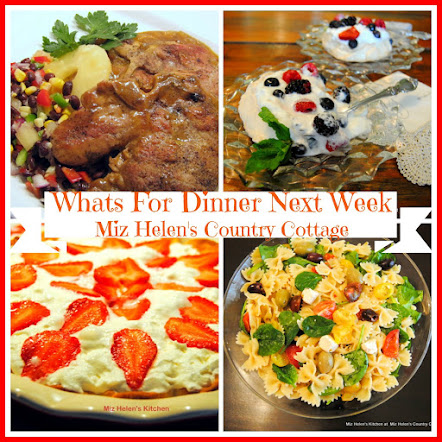 Whats For Dinner Next Week * Week Of 5-21-17