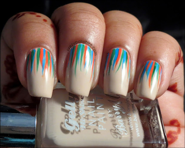 crazy polishes - nail arts swatches