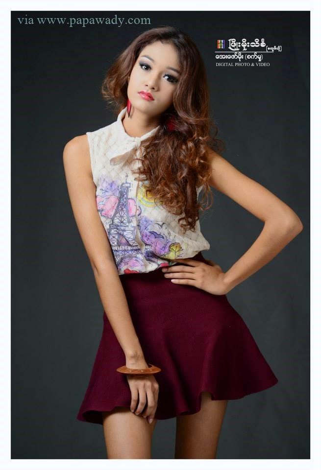 May Myat Noe - Studio Beautiful Photoshoot