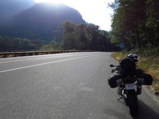 Cascade Mountains Washington Aprilia Tuono