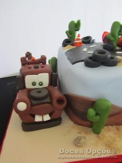 mate bolo aniversário carros