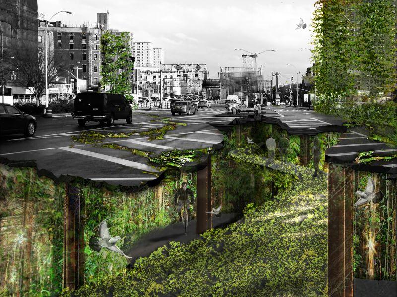 voiture du futur audi et les 5 sc narios pour la mobilit urbaine en 2050. Black Bedroom Furniture Sets. Home Design Ideas