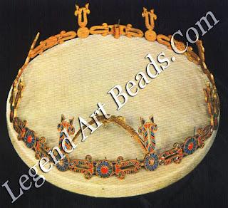 Crown of Princess Khnumet, from Dahshur