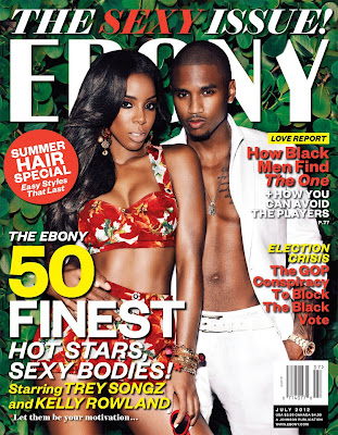 Trey Songz and Kelly Rowland Ebony Sexy Issue