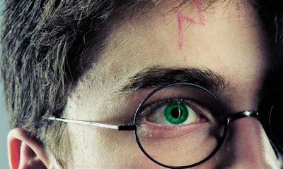 Harry Potter green eyes