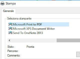 salvare file in pdf