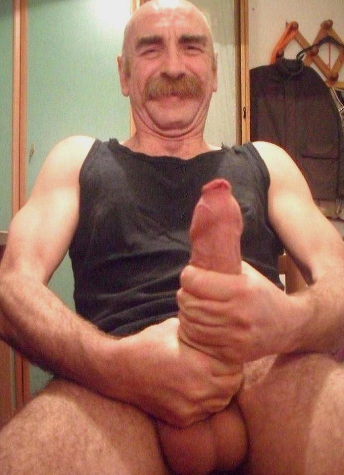 Mature men big dicks balls hot naked with 3