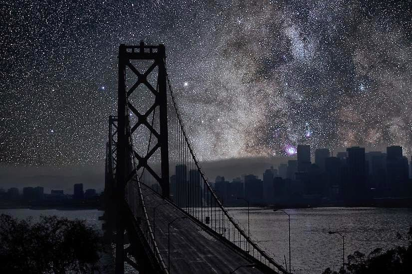 San Francisco - You'll Never Look at the Night Sky in the Same Way