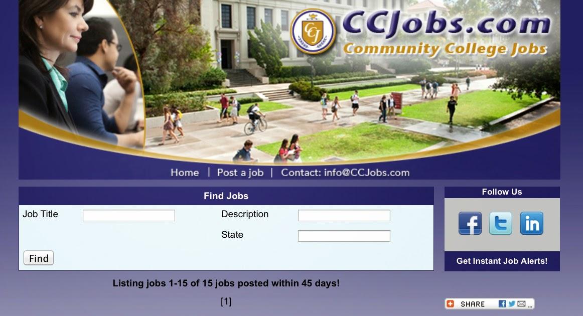 community college jobs