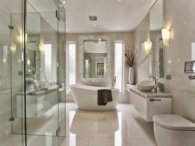 Diseño de baños con ambiente fresco y renovado ...