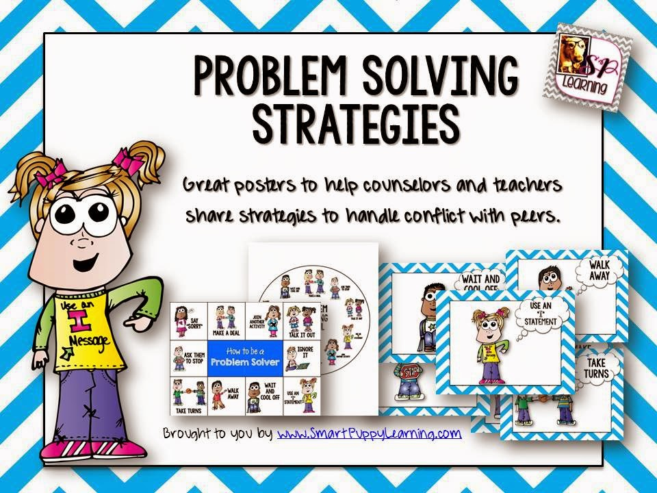 http://www.teacherspayteachers.com/Product/Conflict-Resolution-Strategies-for-Students-1469291
