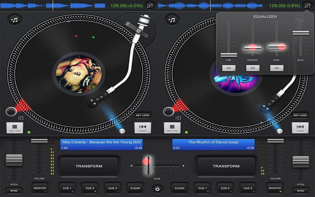 dj pro decks software free