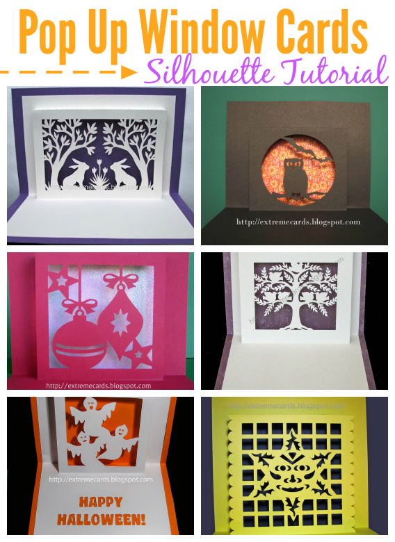 How to design a window pop up card in silhouette studio for Pop window design