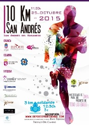 10 y 3 Km San Andres