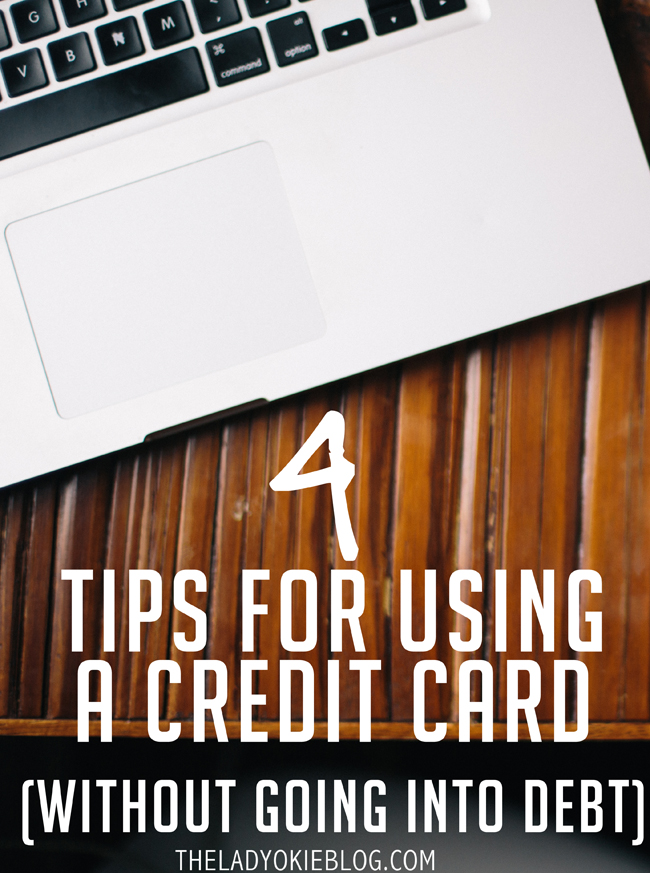 4 budget-friendly tips for using a credit card