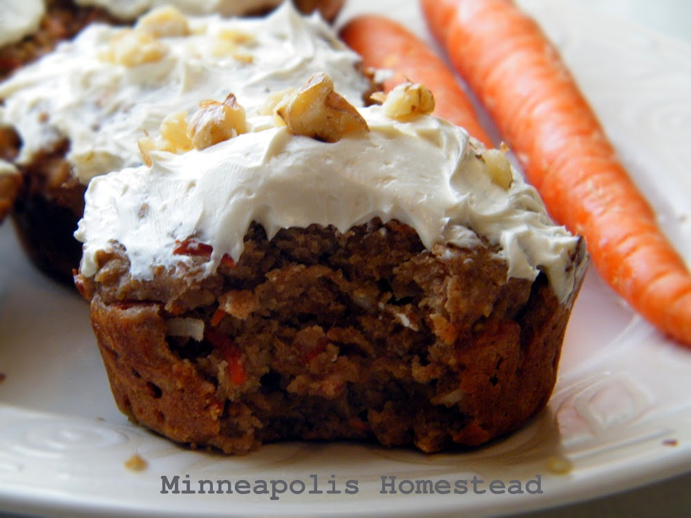 Coconut Flour Carrot Cake Recipe